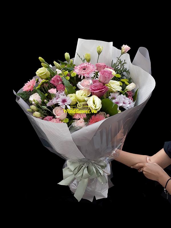 bó hoa đẹp, bó hoa sinh nhật
