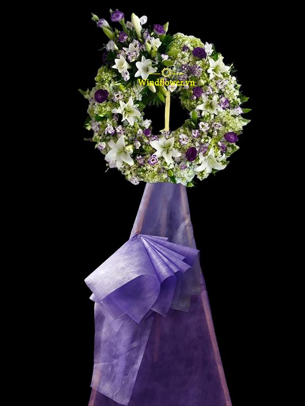 Đặt Lẵng Hoa Đám Tang Đẹp Online tại TPHCM, lẵng hoa đám tang đẹp
