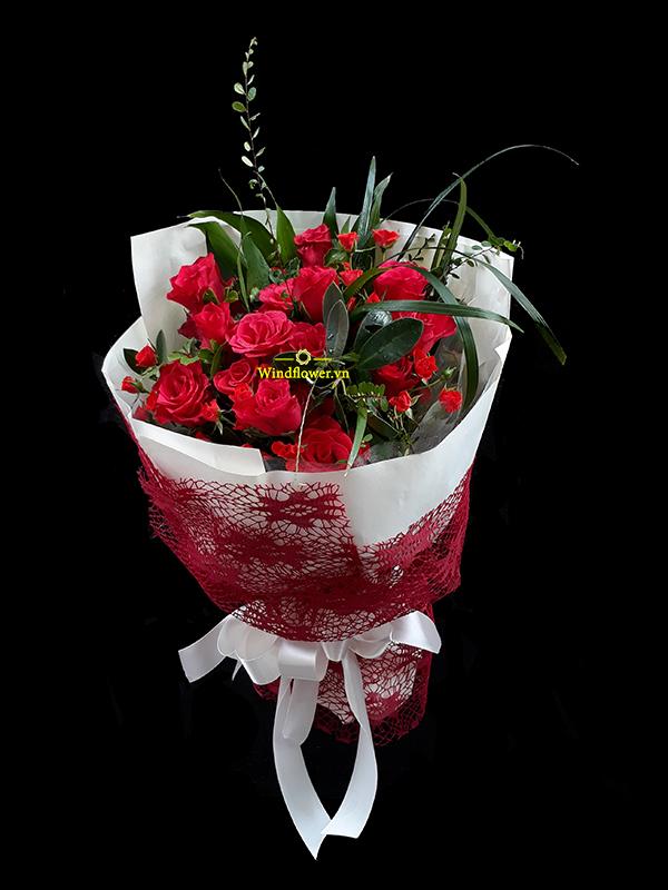 hoa bó đẹp, hoa sinh nhật, hoa chúc mừng sinh nhật