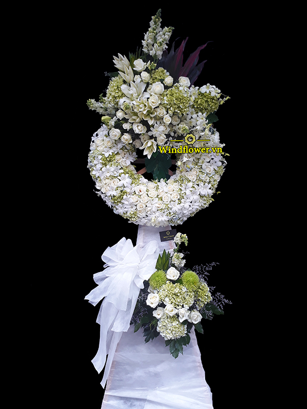 Đặt Vòng Hoa Tang Lễ TPHCM, vòng hoa tang lễ tphcm