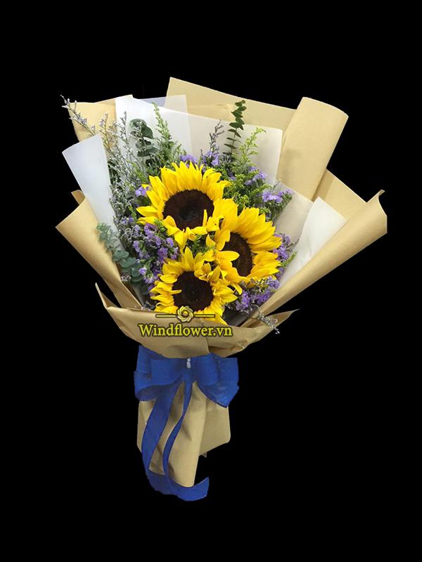 bó hoa đẹp, bó hoa chúc mừng